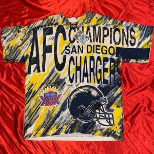 1994 San Diego Champions All around print T-shirt